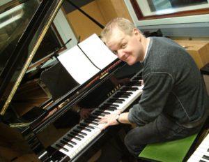 Ben Walker, co-creator of An Orphan's Song, at Host Studios, Leeds