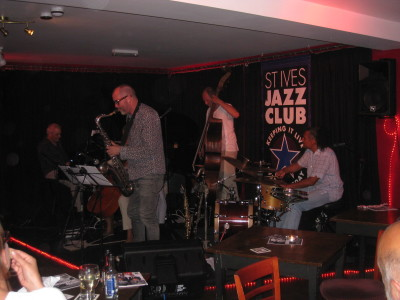 Grassroots Music: Highampton Optimists at St Ives Jazz Club 06/08/2013